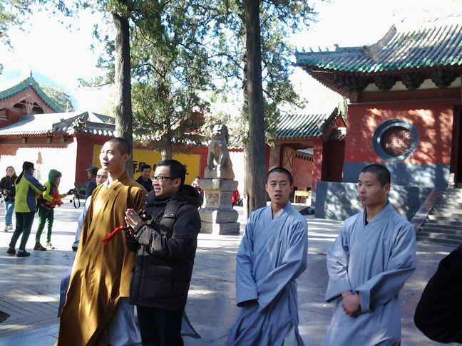 [2012年组织马来西亚松下公司奖励团去河南少林寺